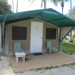 Eco tent at Lady Elliot Island